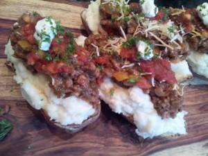 Mexi potatoes